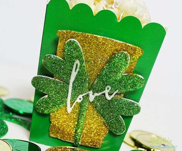 St patricks day popcorn box