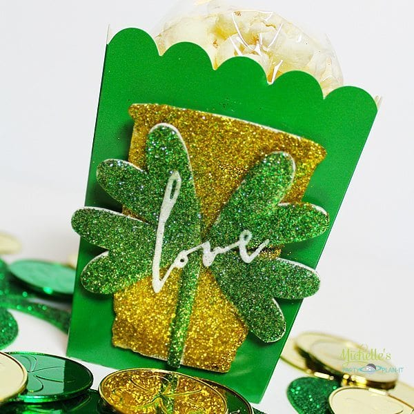 st. patricks day popcorn box