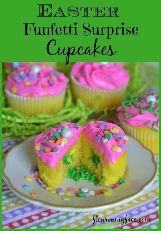 Funfetti surprise cupcakes