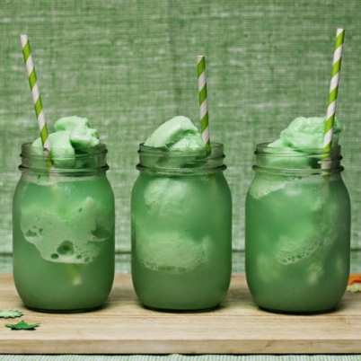 Lime Sherbert Floats