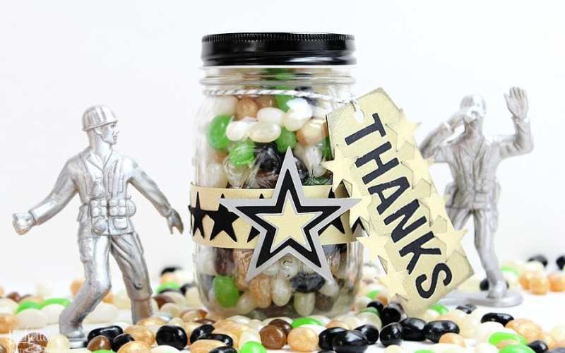 Army Party Favors | Sizzix Inspiration
