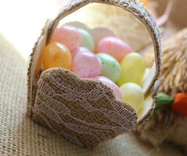 Easter Candy Basket   Sizzix Tutorial