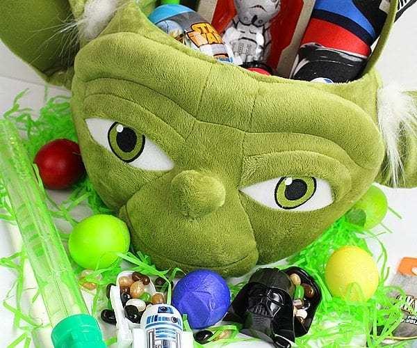 Yoda easter basket