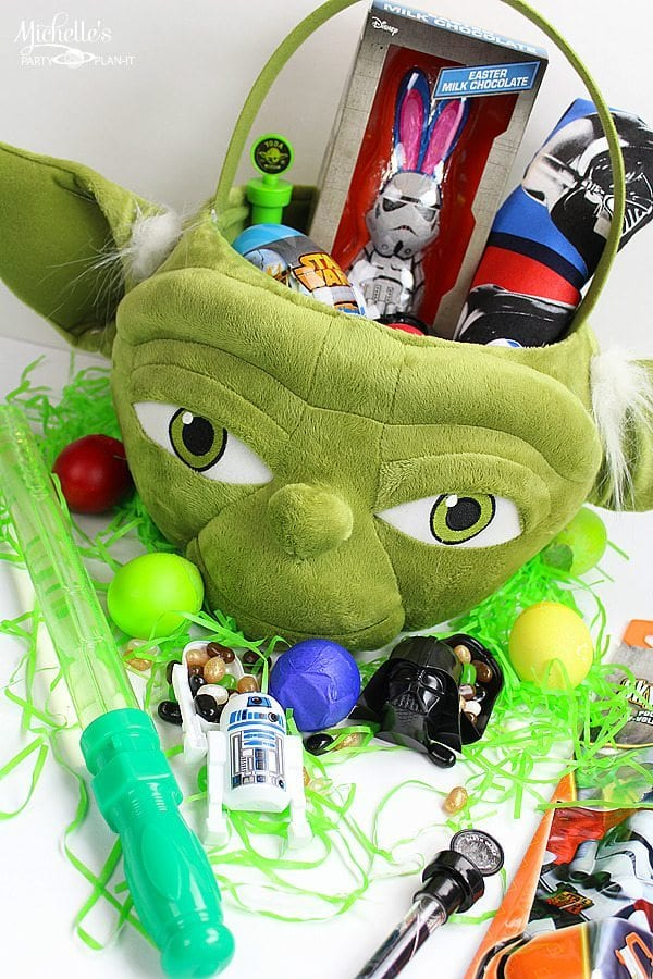 Star Wars Easter Basket #disneyeaster