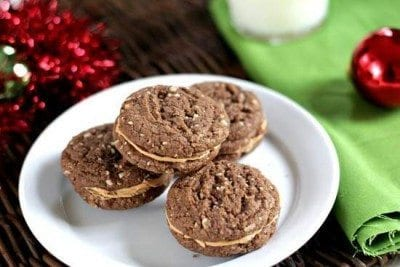 Mexican Hot Chocolate Sandwiches