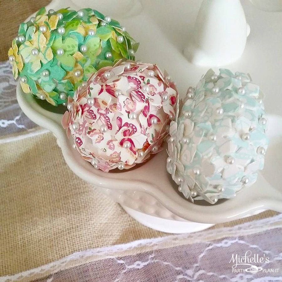 Decorating Eggs with Sizzix