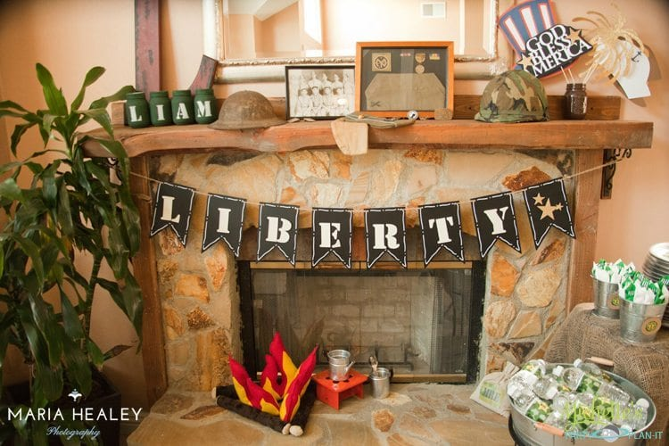 Army Themed Party Ideas Fun Games Decorations