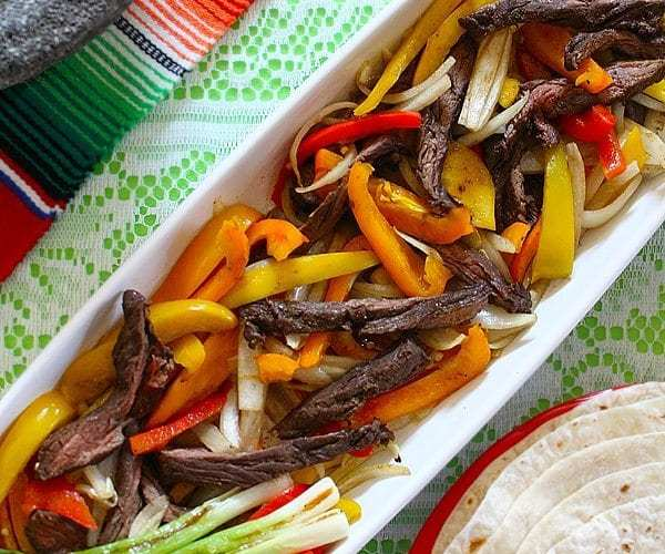 Coffee Rubbed Steak Fajitas and Fresh Salsa Recipes | Summer Fiesta