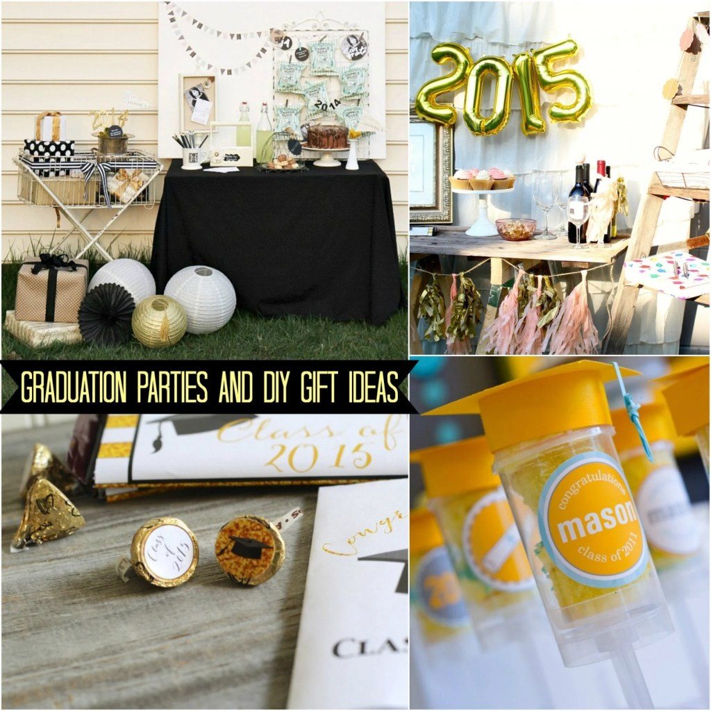 Graduation Parties and DIY Gift Ideas