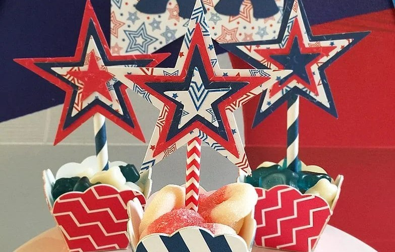 4th of July Candy Cups | Sizzix Tutorial