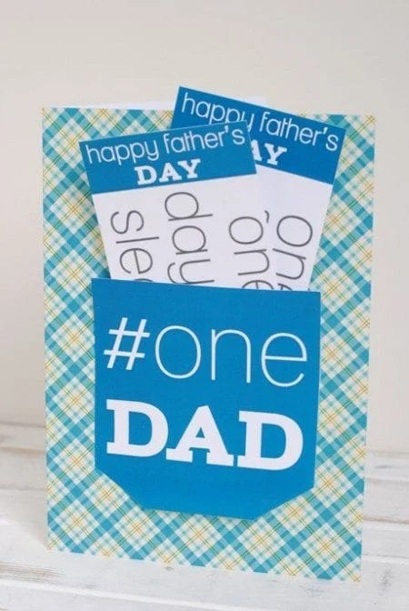 Father's Day Coupon Card