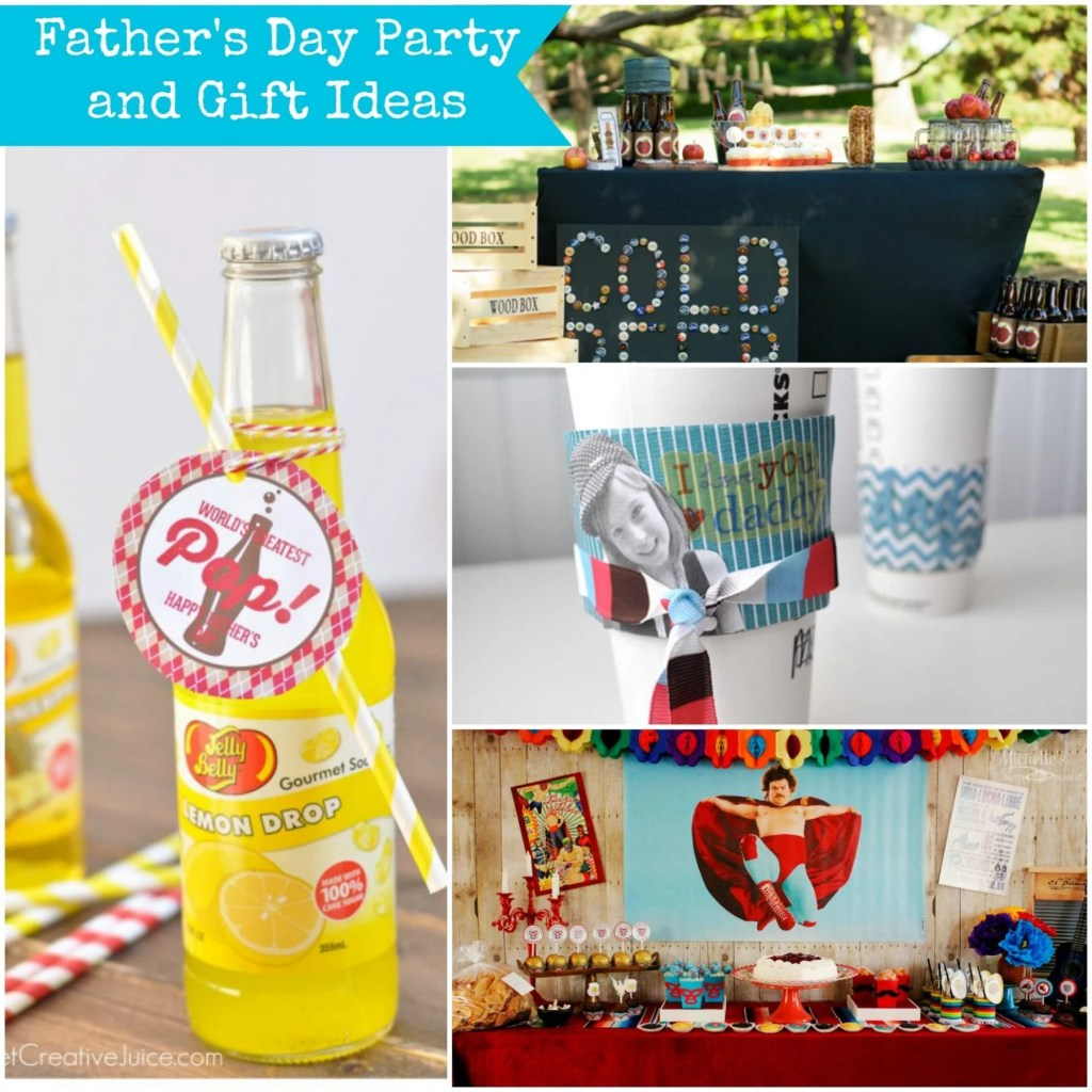 Father's Day Party and Gift Ideas