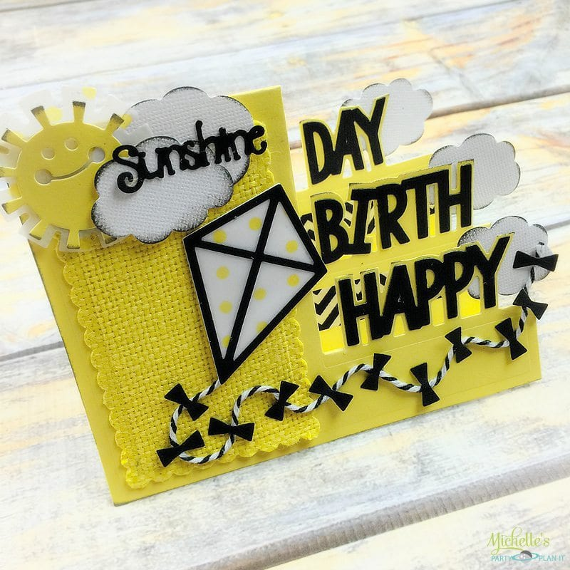 CardMaker Magazine & Sizzix Blog Hop – Happy Birthday Card