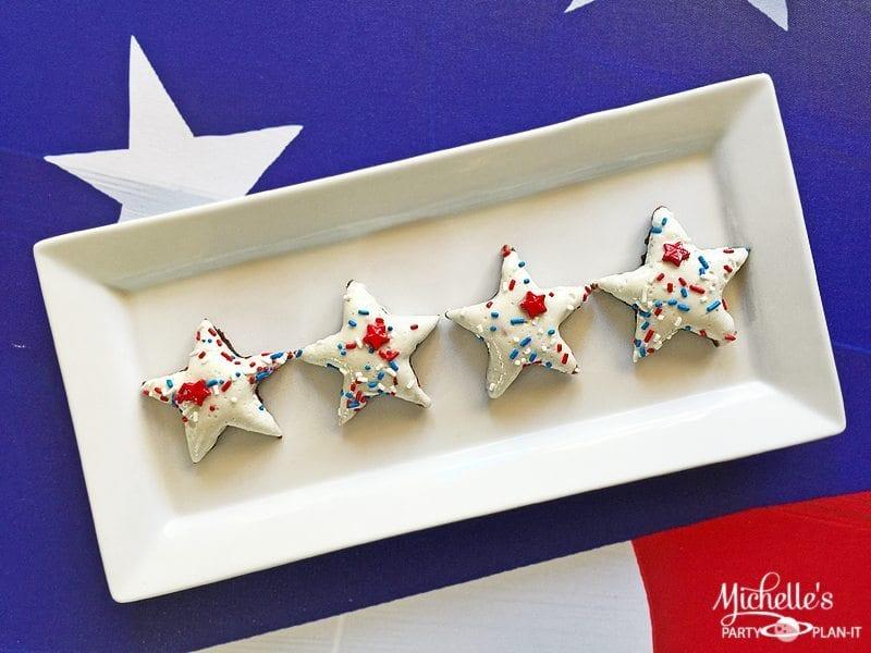 Patriotic Marshmallow Brownies
