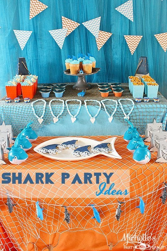Shark Party Ideas | Summer Celebrations