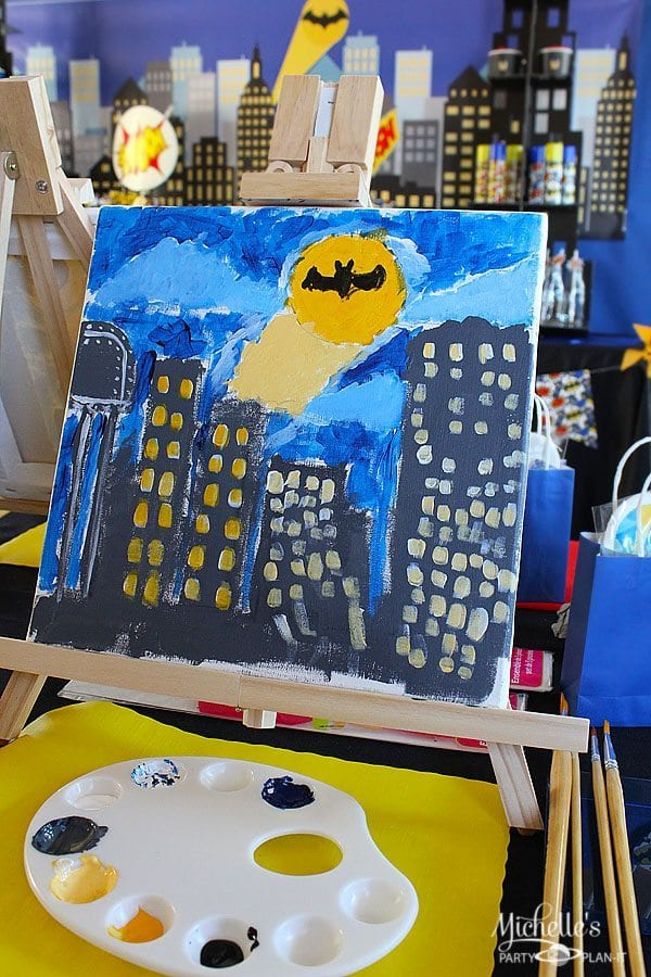 Batman Art Party