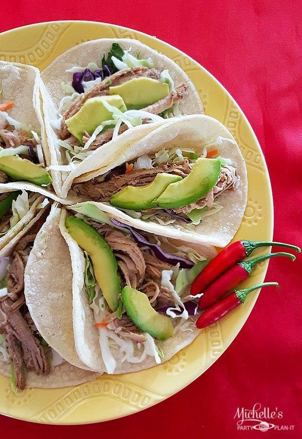 Easy Pork Soft Tacos Recipe
