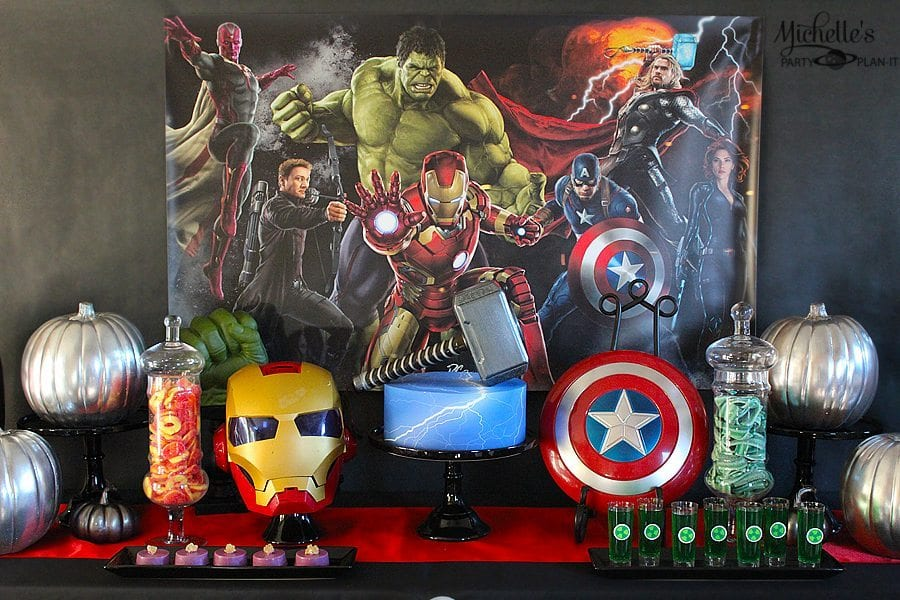 Avengers Halloween Costume Party