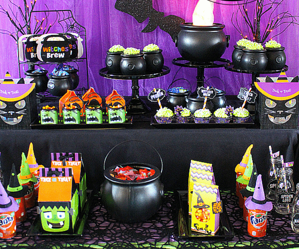 EASY Not So Spooky Halloween Party Ideas with Fanta and OREO