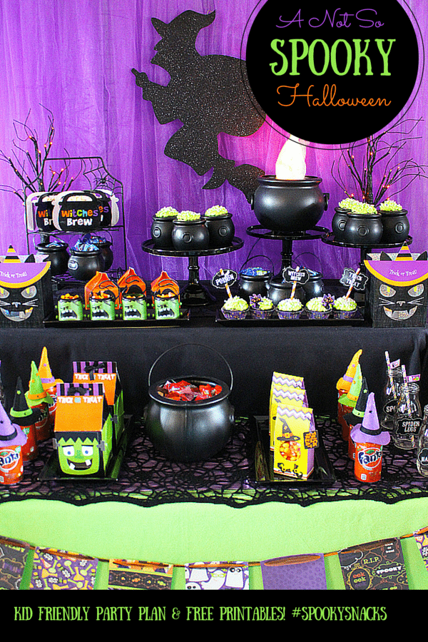 Not So Spooky Halloween Party Ideas