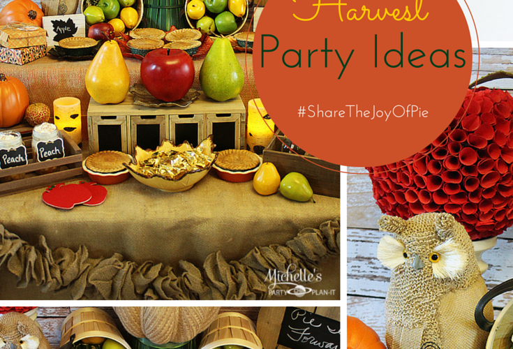 Harvest party ideas
