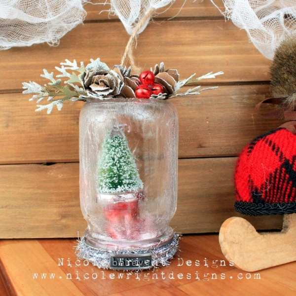 Soft Fallen Snow Ornament