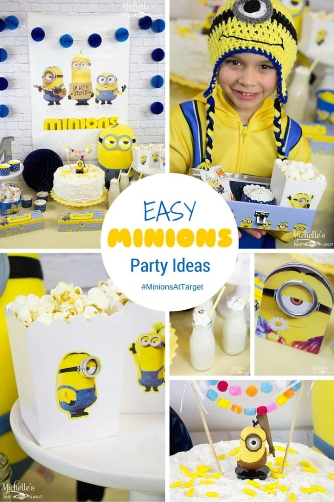 Easy Minions Party Ideas   Movie Watch Party
