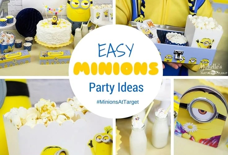 Easy Minions Party Ideas | Movie Watch Party
