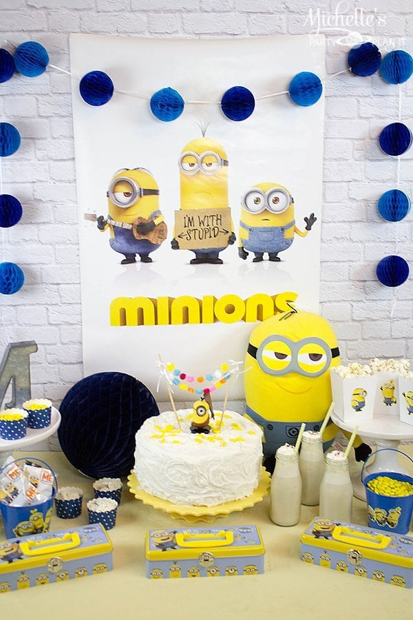 Minions Movie Party Ideas(3)