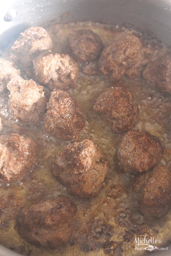 Football Meatballs
