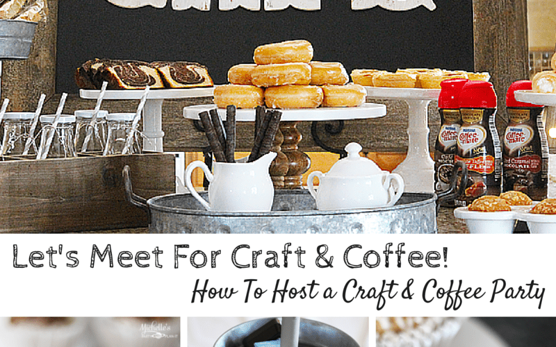 Lets meet for craft coffee
