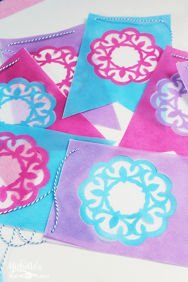 Papel Picado Inspired Banner