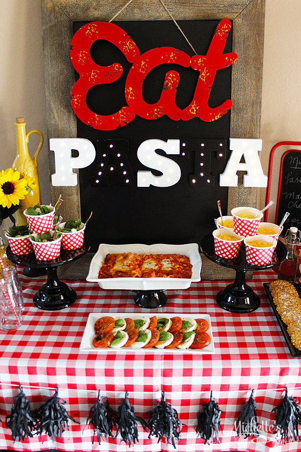 Pasta Party Ideas