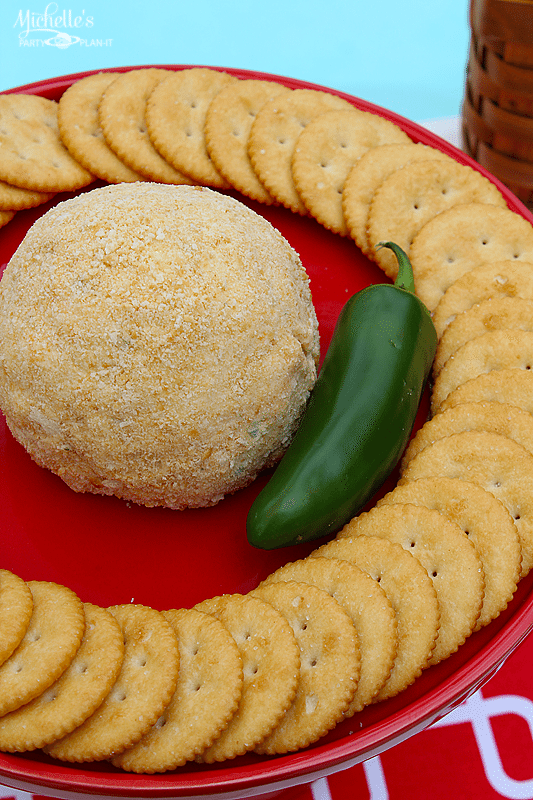 Easy Summer Snacks Spicy Cheese Ball Recipe