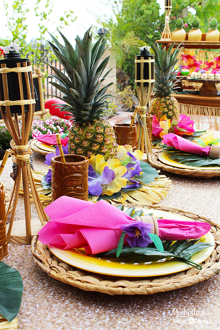 Easy Luau Party Ideas Michelle S Party Plan It