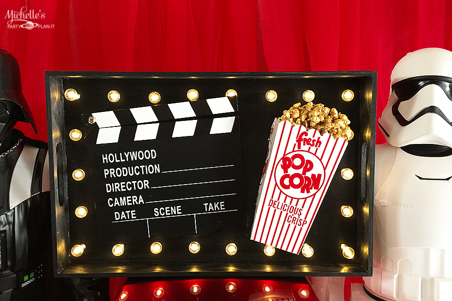 DIY Movie Night Marquee Sign | Whip It Up Wednesday