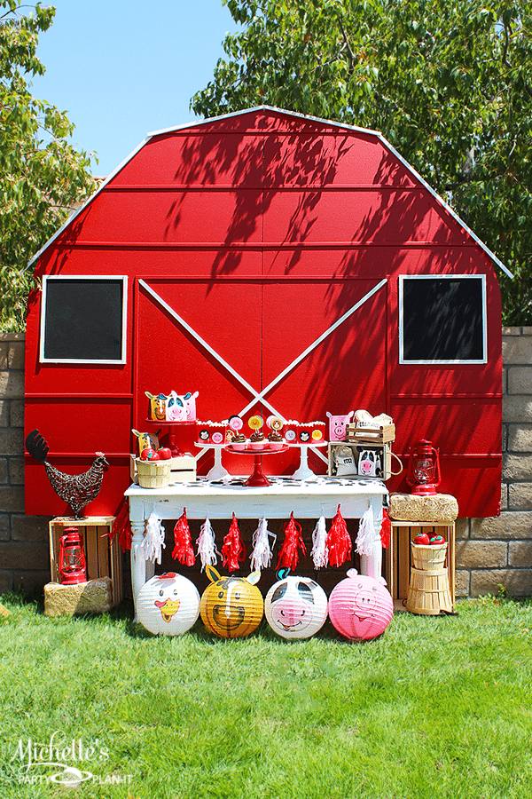 Farm Themed 1st Birthday Party Idea by Michelle Stewart