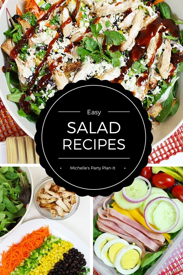 AD: Ease Back in the Routine with Easy Salad Recipes