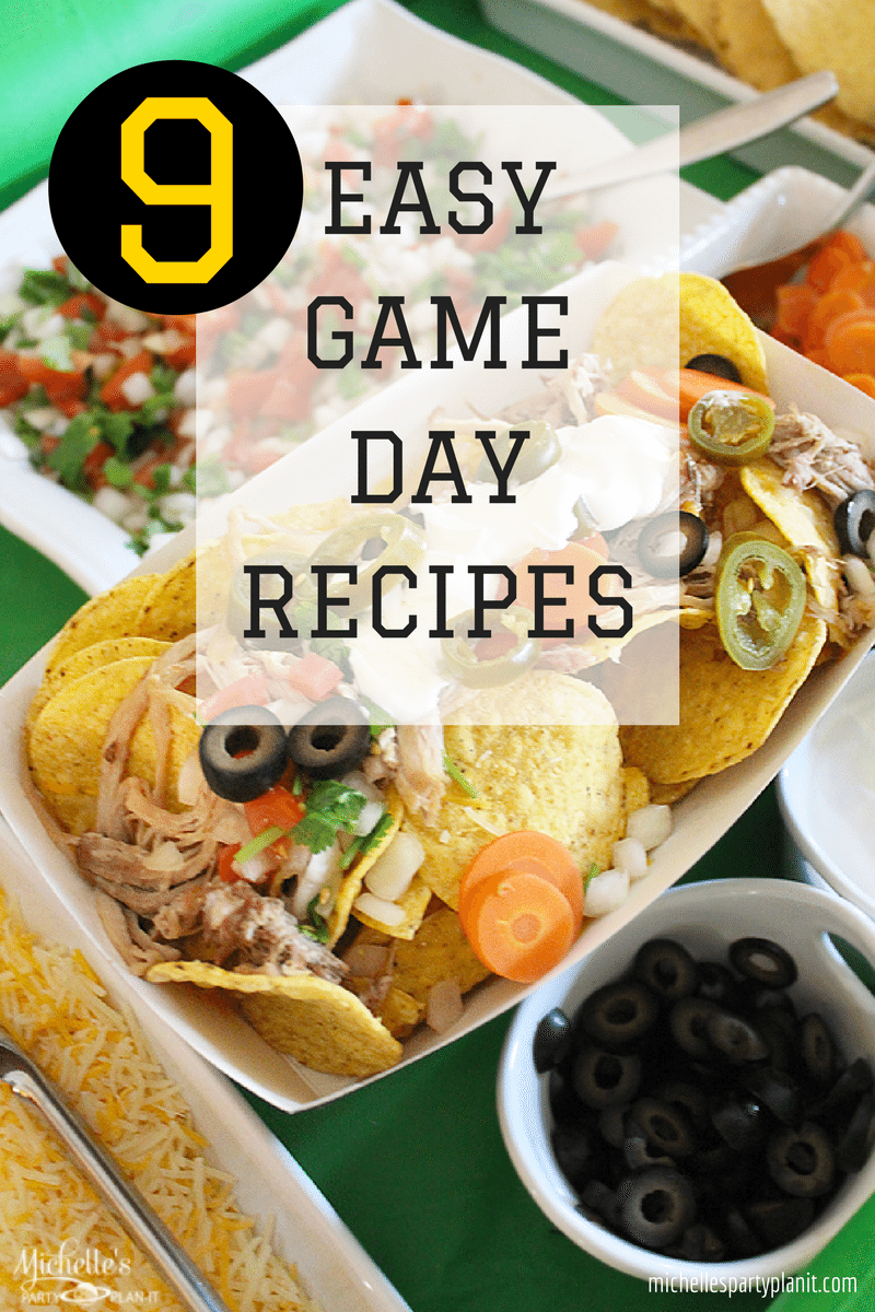 5 Game Day Foods