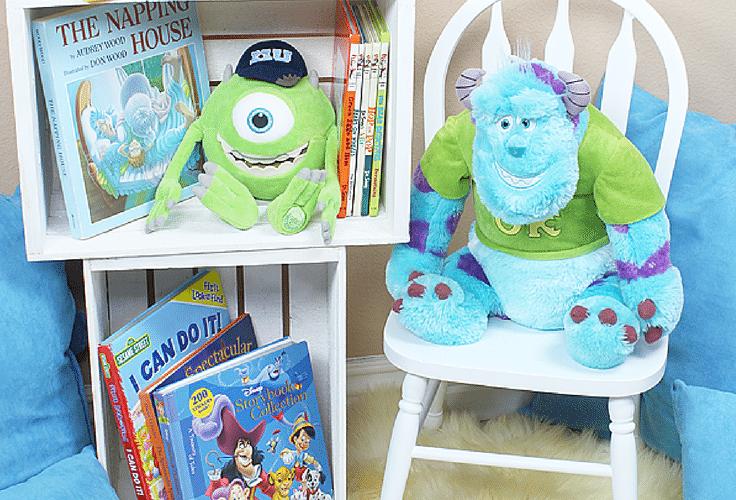 Diy childrens reading nook