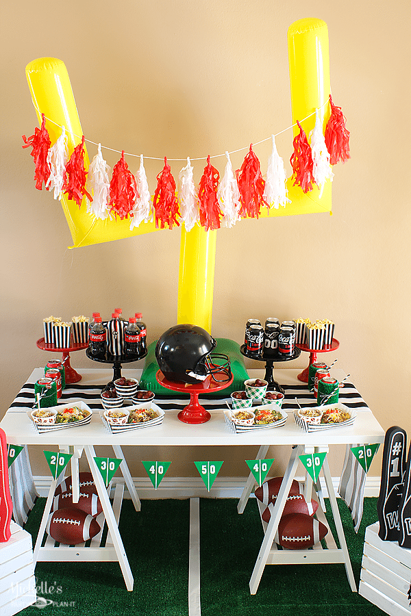 Football Party Ideas - Birthday Party Themes for Boys