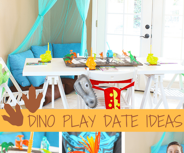 Dinosaur Play Date Ideas and Activities