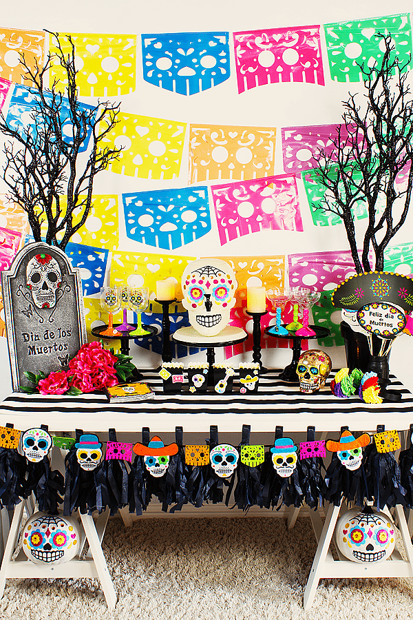 Day Of The Dead Party Ideas Michelles Party Plan It