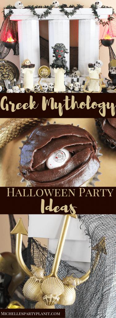 Greek Mythology Halloween Party Ideas