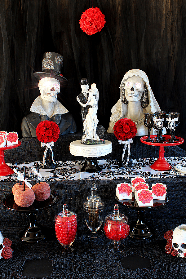 Till Death Do Us Part Gothic Bridal Shower