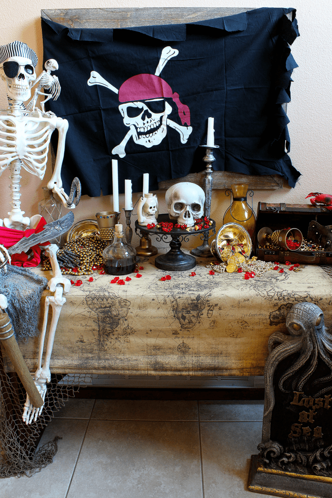 Spooky Pirate Party Decorations