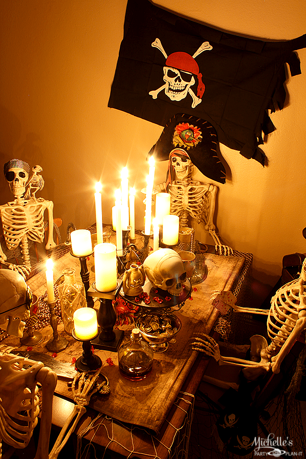 How To Host A Pirate Dinner Party Halloween Party Ideas