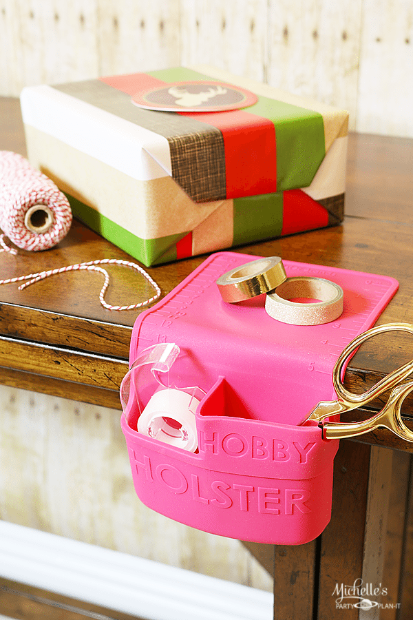 Easy Christmas Gift Wrapping with Hobby Holster