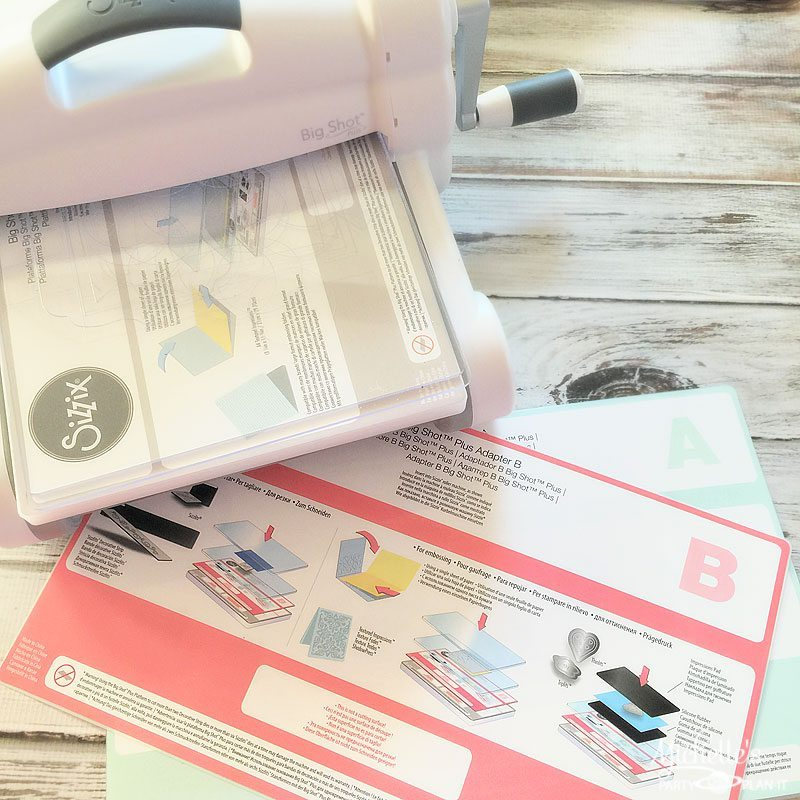 Embossed Party Favor Bags Sizzix Big Shot Plus