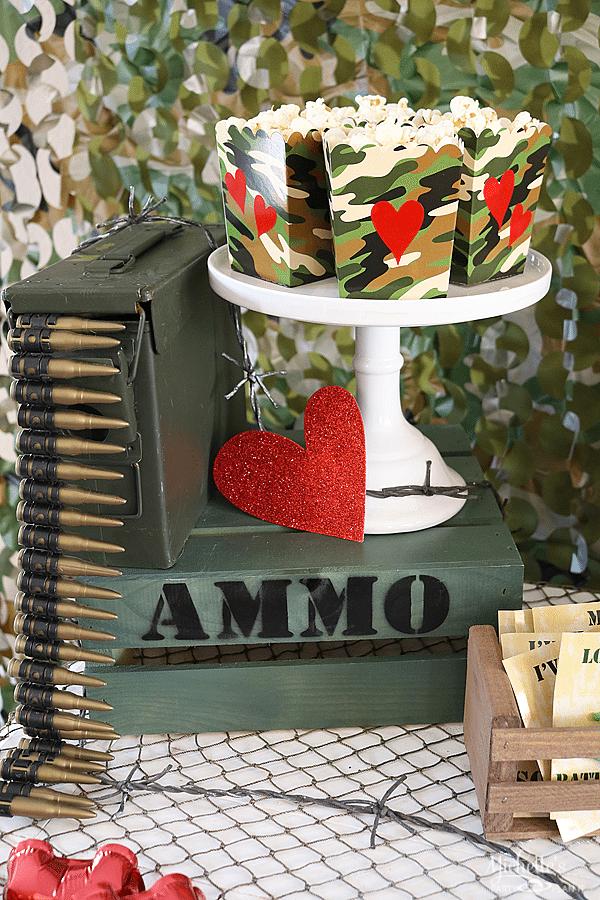 Love is a Battlefield Snacks
